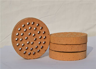 Round Shape Kiln Refractory Bricks For High Working Temperature Areas