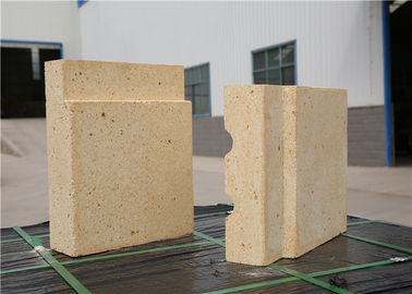 Fine Thermal Shock Stability Alumina Refractory Bricks High Refractoriness Under Load